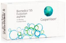 Biomedics 55 Evolution ( 6 čoček)
