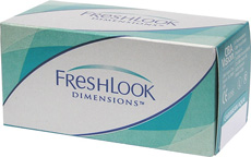 FreshLook Dimensions - dioptrické (6 čoček)