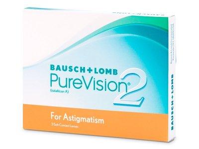 PureVision 2 HD for Astigmatism (3 čočky)