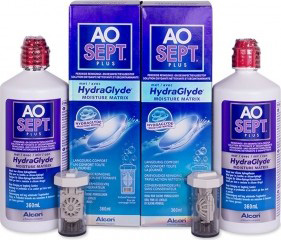 Roztok AOSEPT PLUS HydraGlyde 2 x 360ml