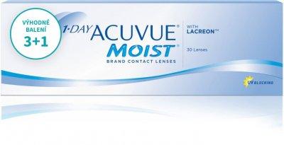 1 Day Acuvue Moist (30 čoček) balení 3+1