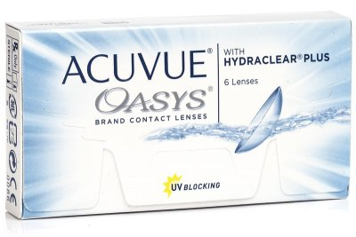 Acuvue Oasys with Hydraclear Plus (6 čoček)