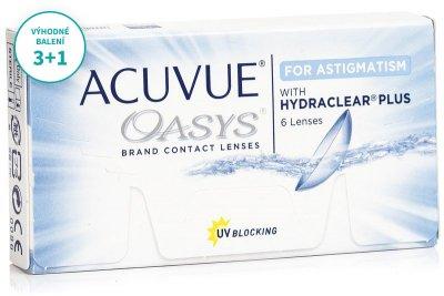 Acuvue Oasys for Astigmatism (6 čoček) balení 3+1