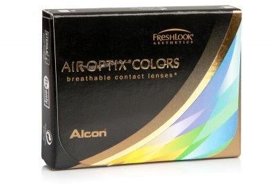Air Optix Colors BROWN (2 čočky) – nedioptrické