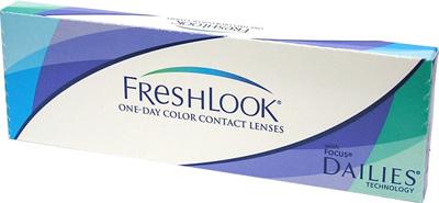 FreshLook One Day Color - dioptrické (10 čoček)