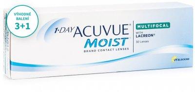 1-DAY Acuvue Moist Multifocal (30 čoček) balení 3+1
