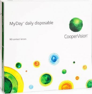 MyDay daily disposable (90 čoček)