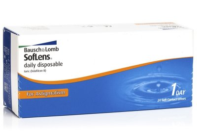 SofLens Daily Disposable For Astigmatism (30 čoček)