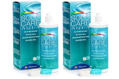 Roztok SoloCare Aqua 2 × 360 ml